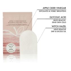key ingredients in apple cider vinegar resurfacing pads