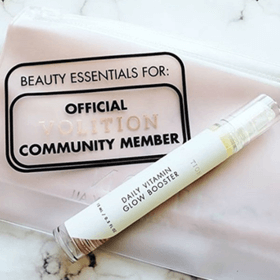 glow booster with the community bag