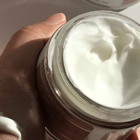 neroli complete creme open jar