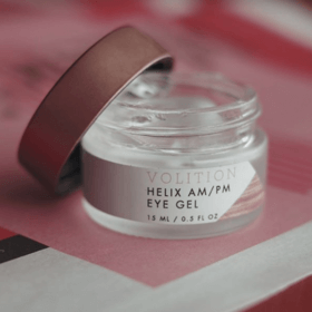 jar of Helix AM/PM Eye Gel