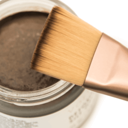 the skincare paintbrush and silt gelee detoxifying mask