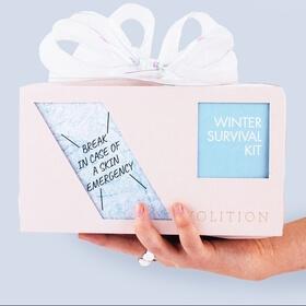 winter survival kit box