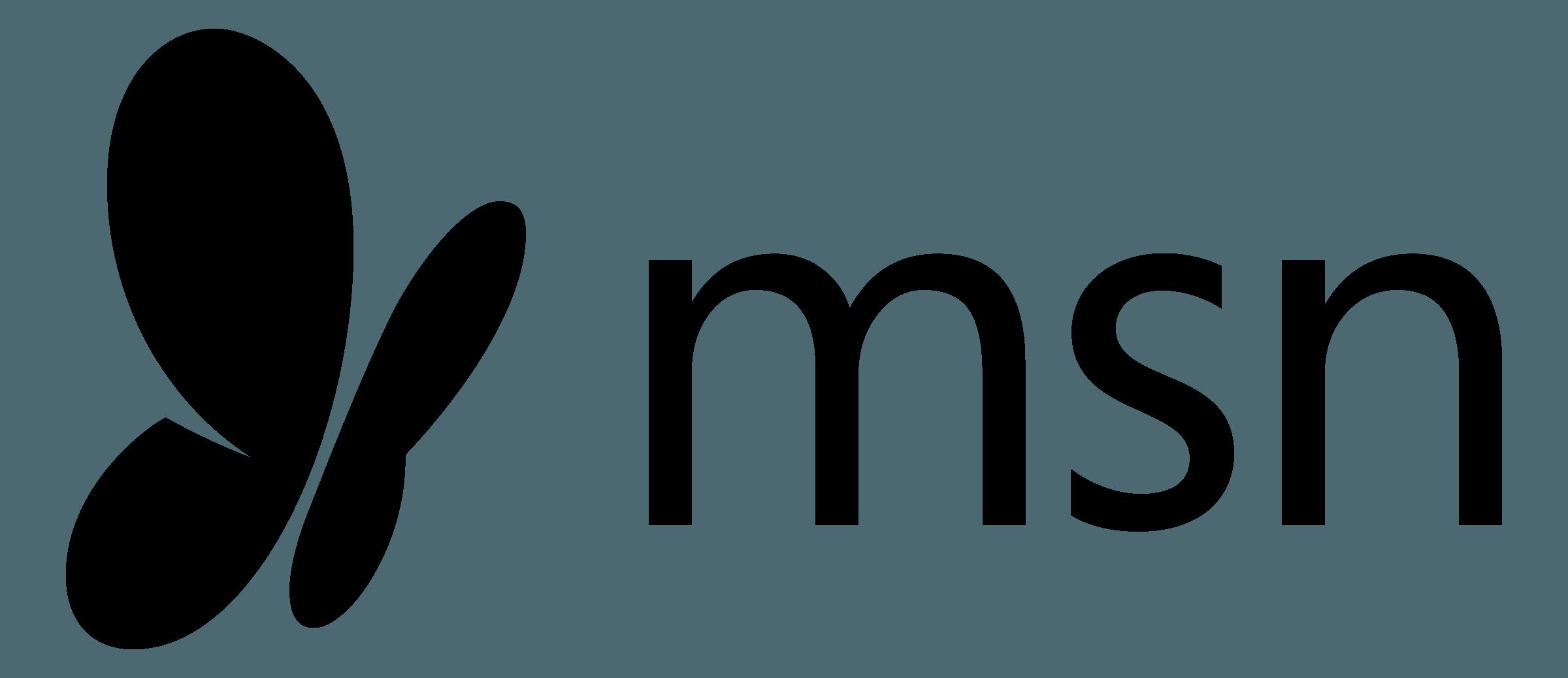Msn logo transparent