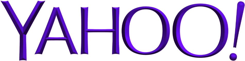 Yahoo logo detail